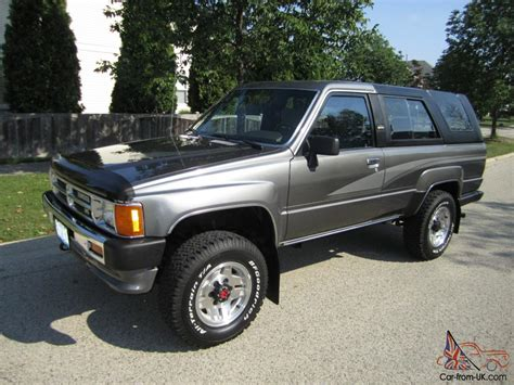 Toyota 4runner Uk 1989 Toyota 4runner Stunning Survivor