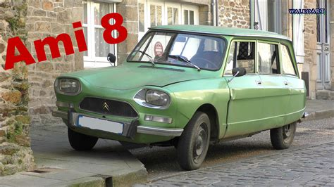 Citroen Ami 8 by Citro 235 N Ami 8 Auf Der Stra 223 E Station Wagon On The