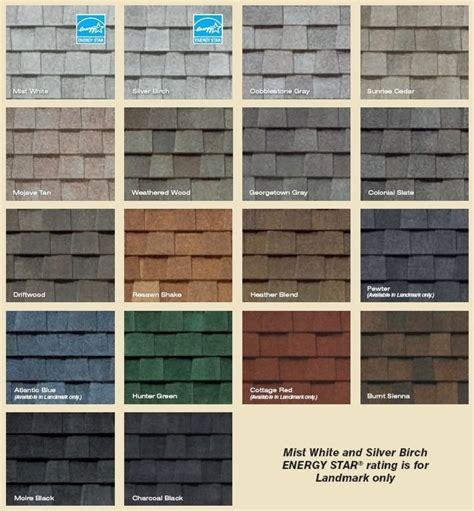shingle colors landmark series shingles colors decorating shingle
