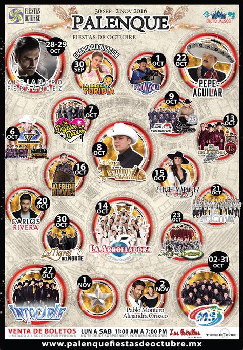 octubre fallecidos artistas 2016 e gualix blog palenque fiestas de octubre 2016