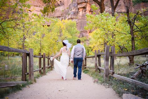 Wedding Zion National Park by 187 Zion National Park Wedding