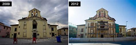 foto l aquila 2009 2012 cosa non 200 cambiato tratto da