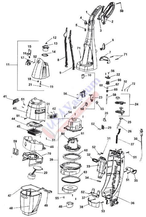 hoover floormate parts diagram hoover h3000 parts