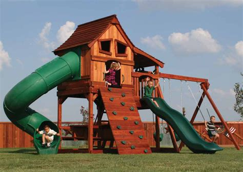 wooden backyard playsets wooden swing sets playsets backyard dreams
