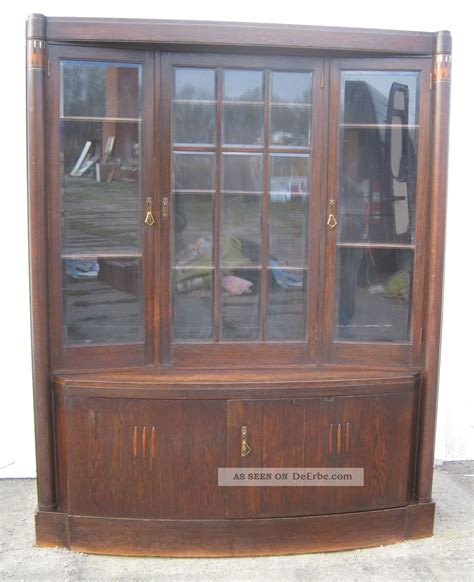 jugendstil vitrine jugendstil vitrine ca 1905 eiche mit perlmutt und holz