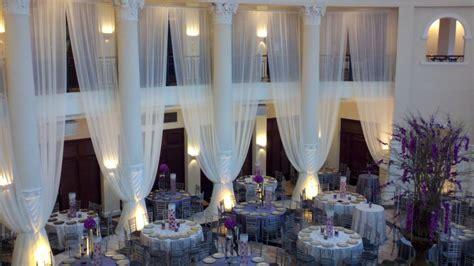 wall drapes for wedding reception wedding drapes sheer curtain 25 x114 quot white or ivory