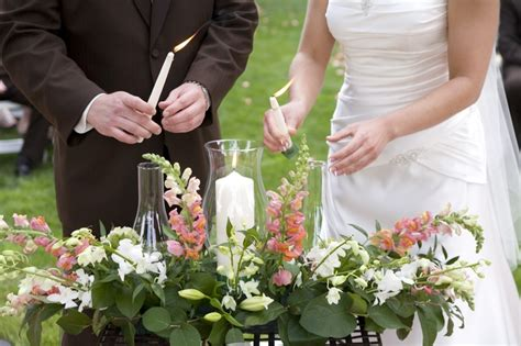 outdoor wedding unity ideas the unity candle ceremony basic info cardinal bridal