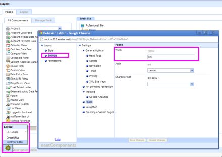 homepage layout manager virtue neatcomponents sitewide settings