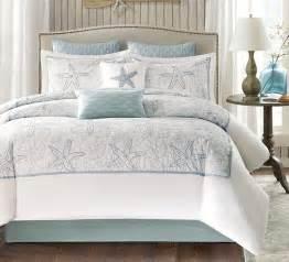 Coastal Style Bedding Maya Bay Seashell Comforter Set