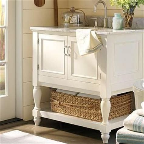 pottery barn bathroom furniture pottery barn bathroom vanities and cabinets on pinterest