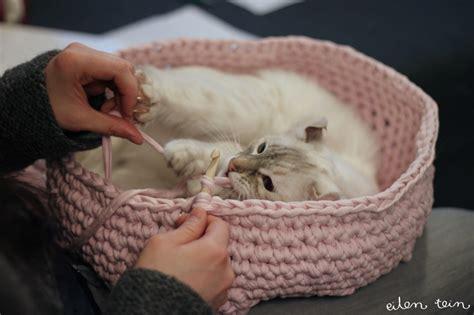 free crochet pattern cat cave cool creativity diy crochet cat cave