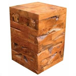 wood block side table wood block antique card tables