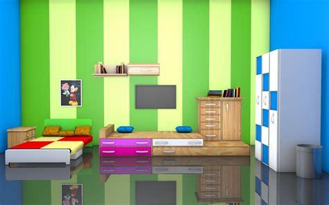 kids room interior  model cgtrader