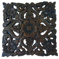 carved wood wall decor  asiana home decor