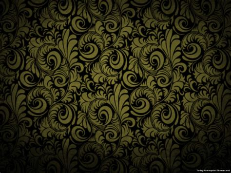 wallpaper coklat keren gold batik background powerpoint today