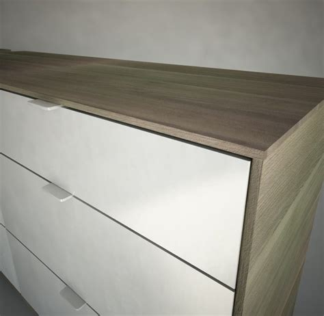 Nyvoll Dresser by Nyvoll Drawer Chest Dxf
