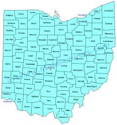 County Map Ohio by Ohio Map Counties And Cities Images