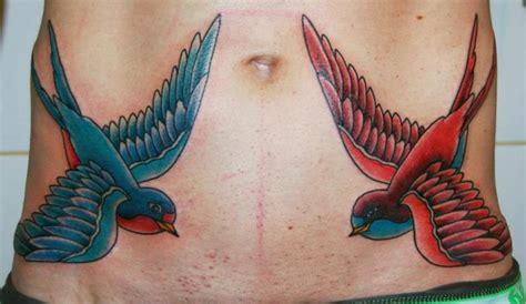 new school sparrow tattoo new school belly sparrow tattoo by stademonia tattoo