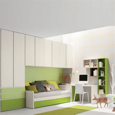 living spaces kids bedroom sets kid s room space saving furniture sets quot green quot by clever