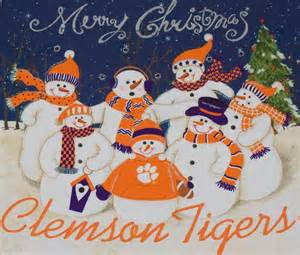 merry christmas clemson tigers clemson tigers
