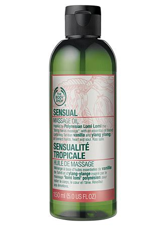 body shop sensual massage oil reviews productreview