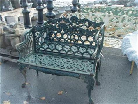 victorian style bench victorian style cast iron garden bench s10 ebay