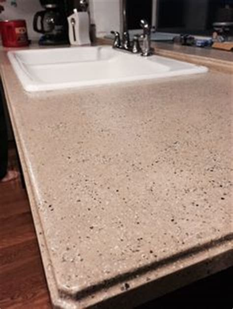 Spreadstone Countertop Refinishing Kit by 20 Sanded And Steel Wool Buffed Finish After Using