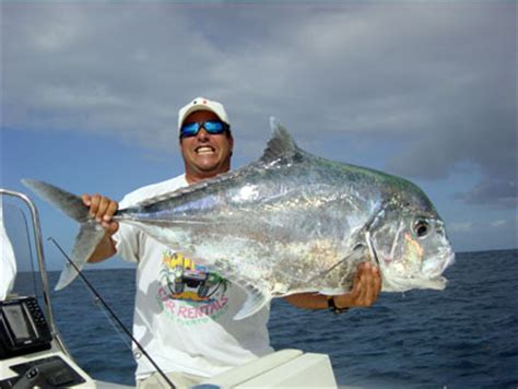 Pompano Records Big Fishes Of The World Pompano Alectis Ciliaris