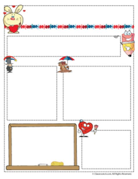 february newsletter template teacher newsletter templates woo jr kids activities