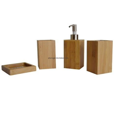 Accessoires Salle De Bain Bambou 2778 by Accessoire Cuisine Luitrin Bambou Accueil Design Et Mobilier