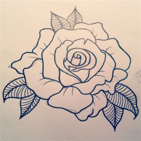 rose stencil tattoo 25 best school trending ideas on