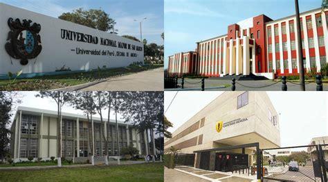 las 100 mejores universidades de amrica 2016 las diez mejores universidades del per 250 seg 250 n am 233 rica