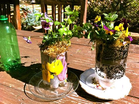 Plastic Bottle Self Watering Planter by Self Watering Planters Made From Repurposed Plastic Soda