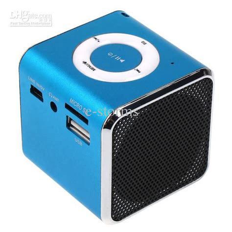 mini speaker mp3 player lifier suport micro sd tf card