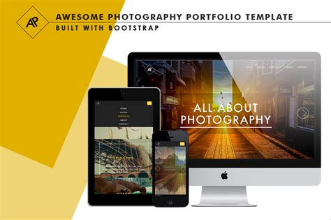 html5 photography template 26 photography html5 website templates free themes