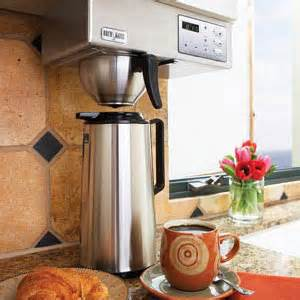 brewmatic counter stainless steel coffee maker review