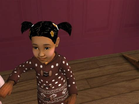 african american sims 3 mod the sims african american toddler wavy pony tails