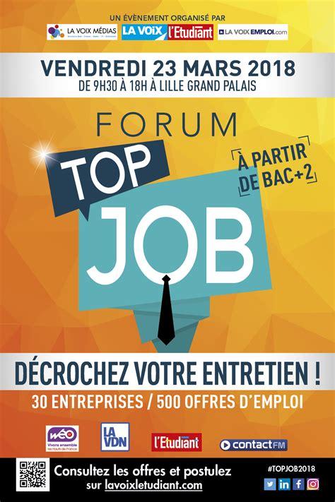 forum top forum emploi la voix l 233 tudiant