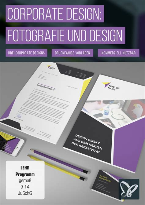 Corporate Design Vorlagen Indesign corporate design titelbild powerpoint vorlagen flyer vorlagen