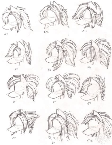 Female Anthro Wolf Hairstyles By Stangwolf On Deviantart | female anthro wolf hairstyles by stangwolf on deviantart