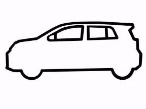 car outline car side outline clipart best