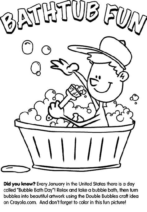 crayola bath coloring pages bathtub fun crayola com au