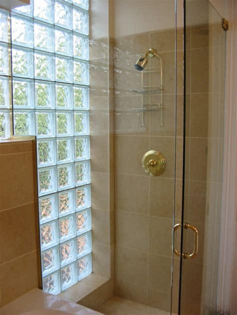 Brique Salle De Bain mettons des briques de verre dans la salle de bains