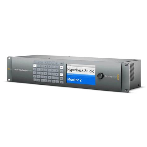 Blackmagic Design Smart Videohub 40x40 smart videohub 12g 40x40 cassettes clon