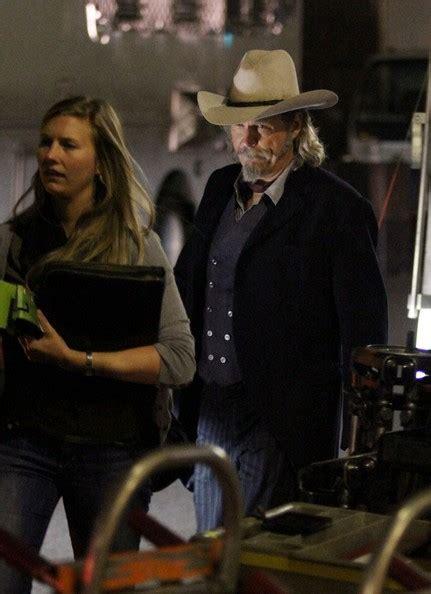 cowboy film jeff bridges bridges starts filming zimbio