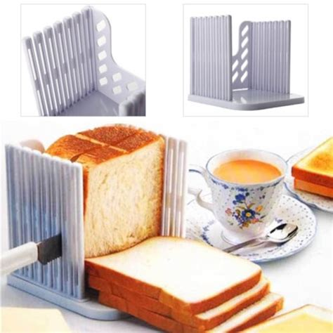 Cetakan Roti Bread Mold L creative kitchen folding tool bread mold maker cetakan roti white jakartanotebook