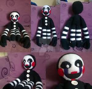 Fnaf puppet plush by kestrelalanza on deviantart