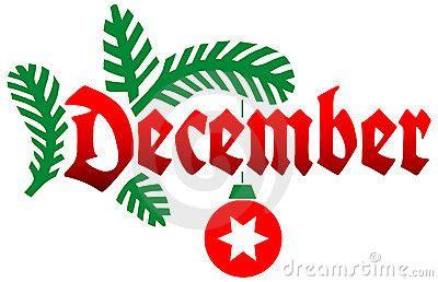 printable december banner december images clip art many interesting cliparts