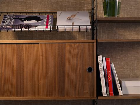 Buy Shelf Company Uk by Buy The String Shelf System Walnut Black At Nest Co Uk