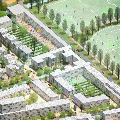 De Zwarte Hond Architecten by De Zwarte Hond Wint Prijsvraag In Hamburg Architectenweb Nl